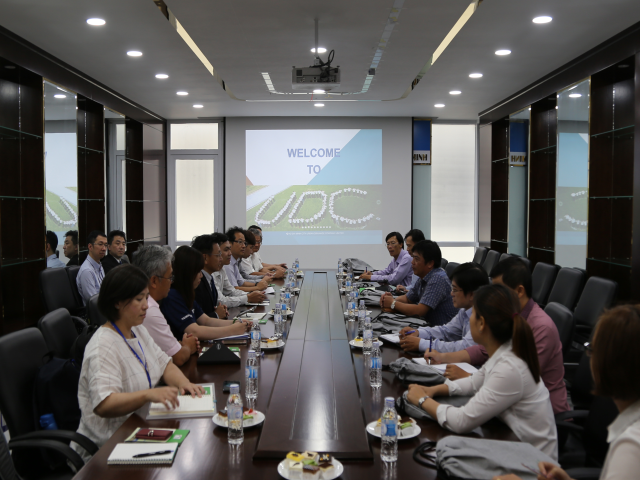 Meeting with TAITRA and Taiwan enterprises