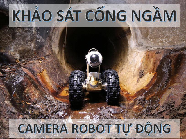 Inspection service for underground pipelines by Closed Circuit Television Video (CCTV) System